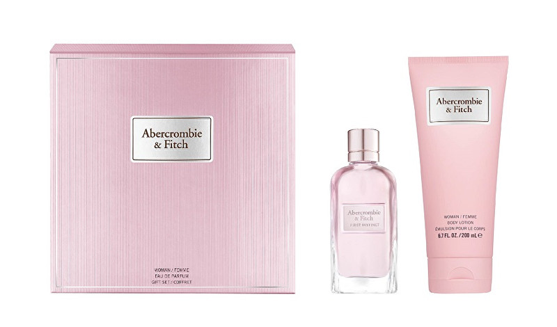 Abercrombie & Fitch First Instinct For Her - EDP 50 ml   telové mlieko 200 ml