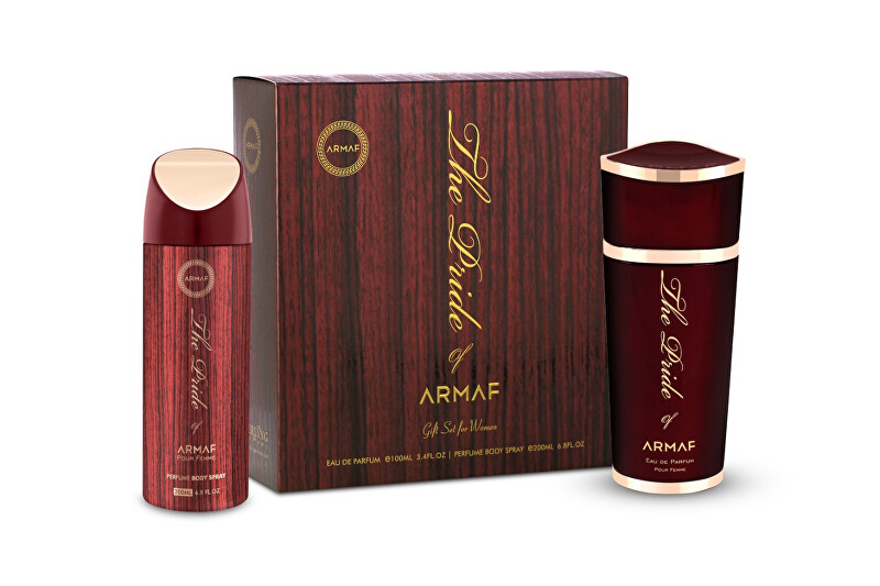 Armaf The Pride Of Armaf For Women - EDP 100 ml   deodorant ve spreji 200 ml