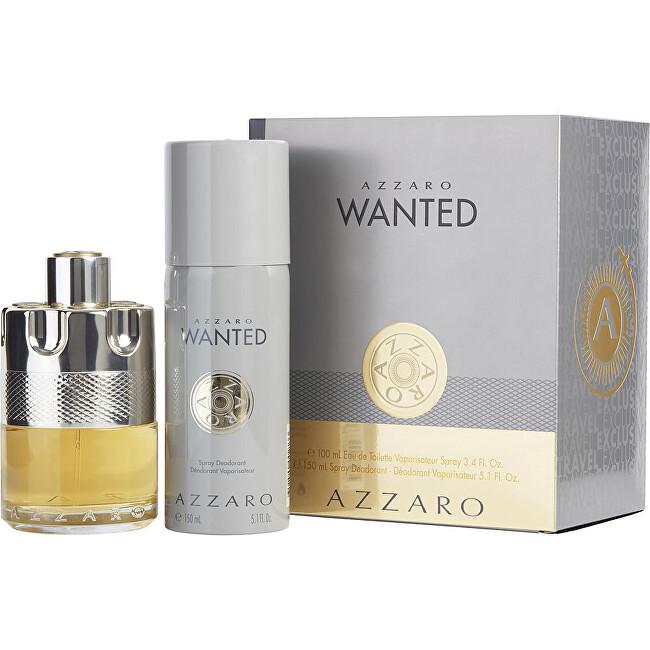 Azzaro Wanted - EDT 100 ml + deodorant ve spreji 150 ml