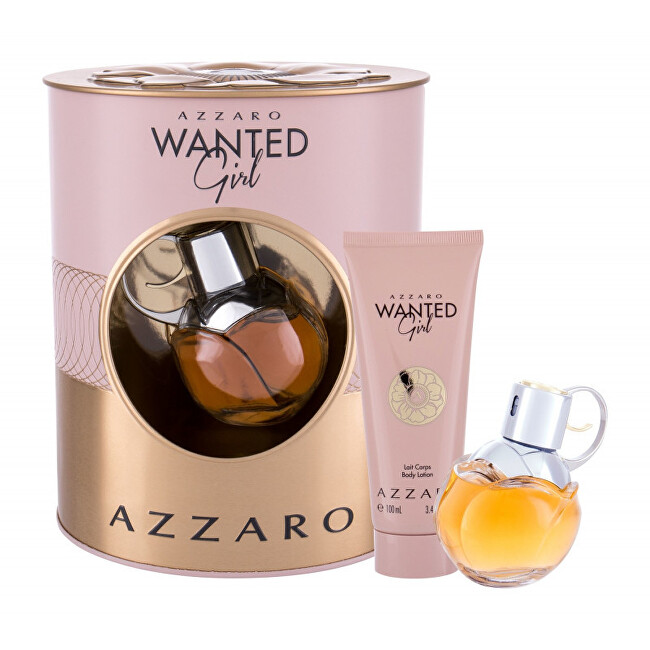 Azzaro Wanted Girl - EDP 50 ml   tělové mléko 100 ml