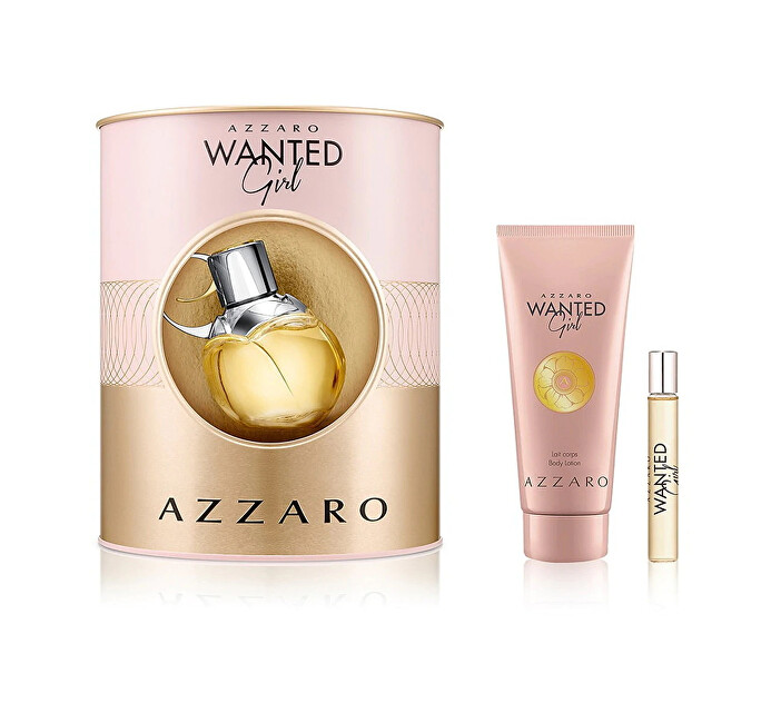 Azzaro Wanted Girl - EDP 80 ml   tělový krém 100 ml   EDP 7,5 ml