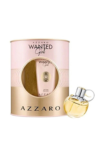 Azzaro Wanted Girl - EDP 80 ml   tělový krém 100 ml