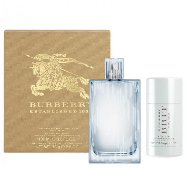 Burberry Brit Splash For Him - EDT 100 ml   tuhý deodorant 75 ml
