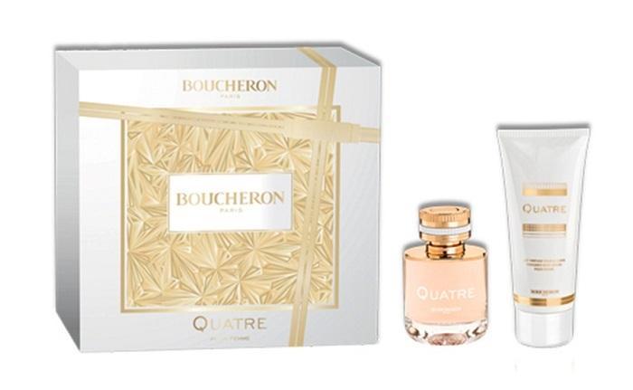 Boucheron Quatre Pour Femme - EDP 50 ml + tělové mléko 100 ml