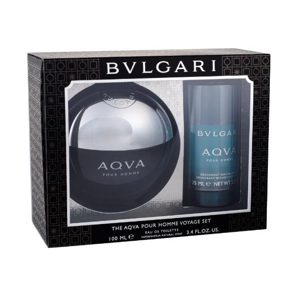 Bvlgari Aqva Pour Homme - EDT 100 ml + tuhý deodorant 75 ml