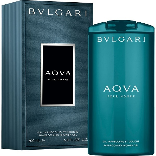 Bvlgari Aqva Pour Homme - sprchový gel 200 ml