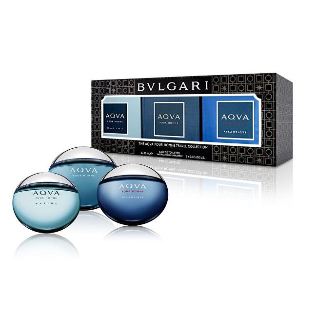 Bvlgari Kolekcia miniatúr Bvlgari Aqua – EDT 3 x 15 ml