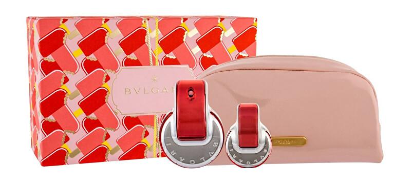 Bvlgari Omnia Coral - EDT 65 ml + EDT 15 ml + kosmetická taštička