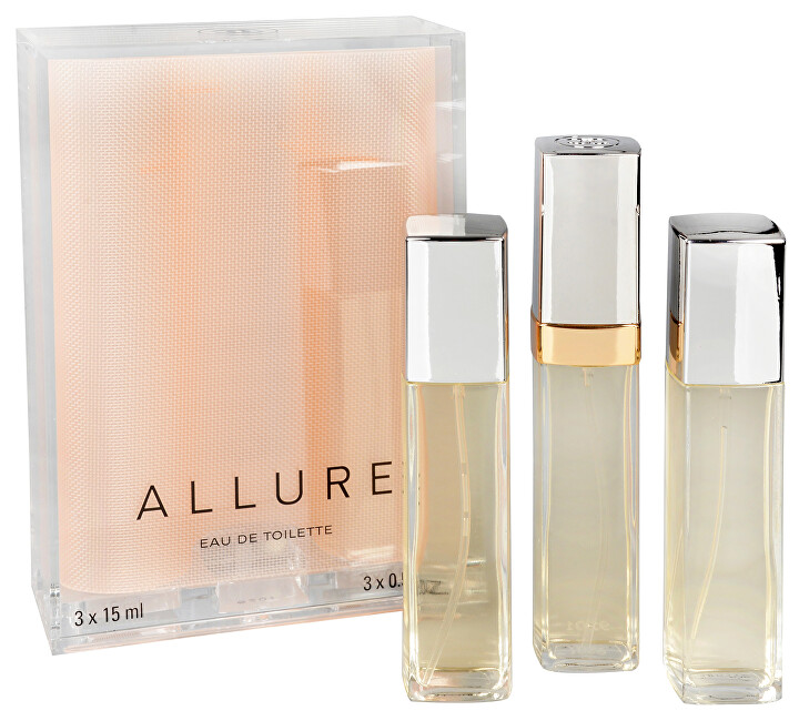 Chanel Allure - EDT (3 x 15 ml) 45 ml