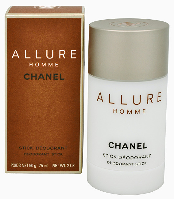 Chanel Allure Homme - tuhý deodorant 75 ml