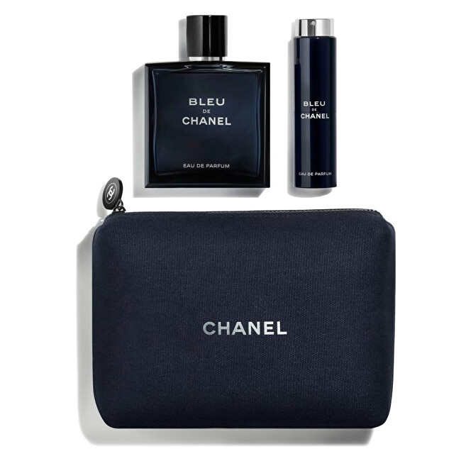 Chanel Bleu De Chanel - EDP 100 ml + EDP 20 ml + kosmetická taštička