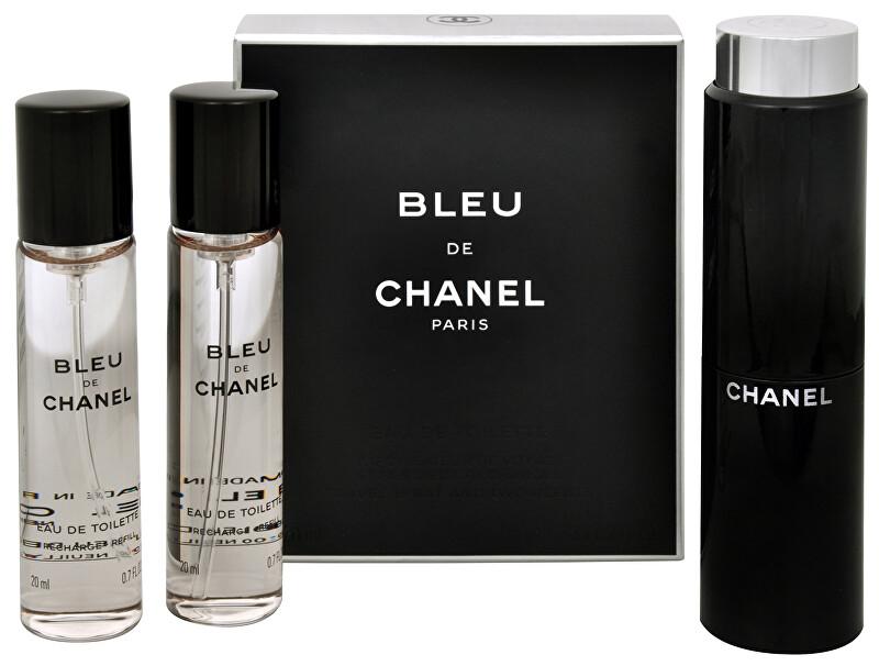 Chanel Bleu De Chanel - EDT (3 x 20 ml) 60 ml