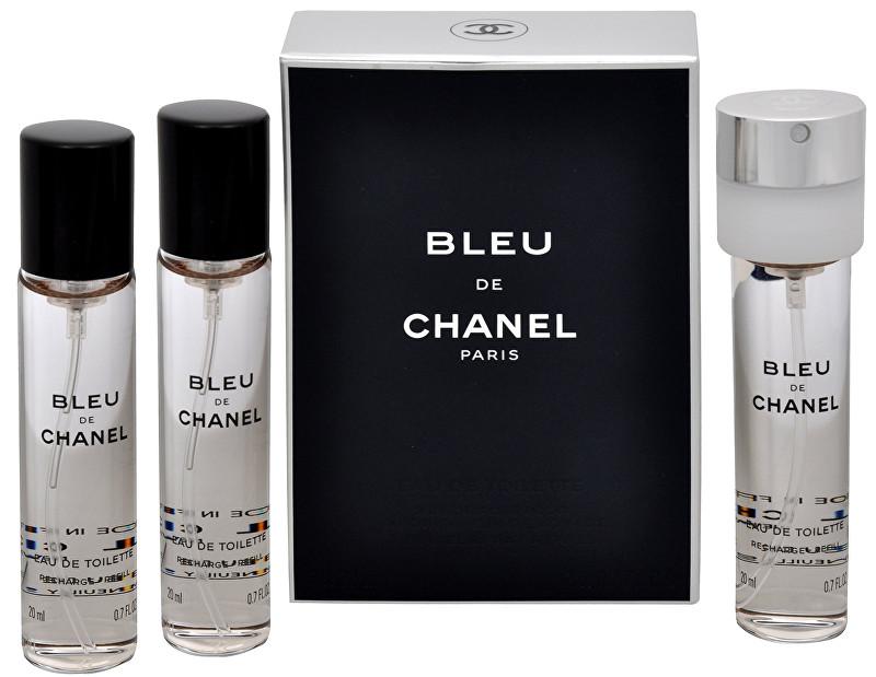 Chanel Bleu De Chanel - EDT náplň (3 x 20 ml) 60 ml