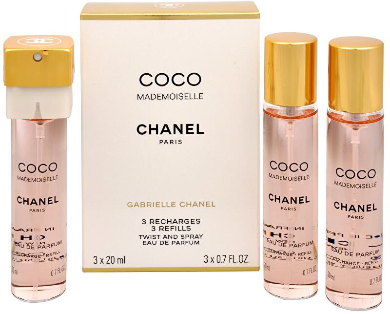 Chanel Coco Mademoiselle - EDP náplň 3 x 20 ml 60 ml