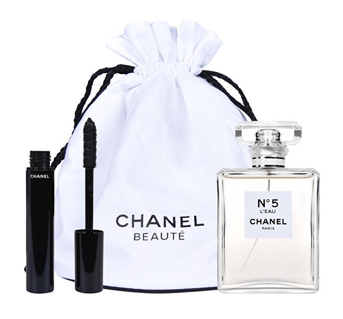 Chanel Chanel No. 5 L`Eau - EDT 100 ml + řasenka 6 g