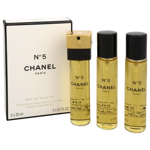 Chanel No.5 toaletná voda dámska 3x20 ml