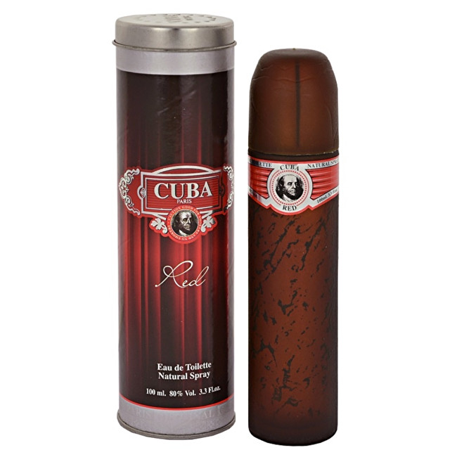 Cuba Red 100ml EDT