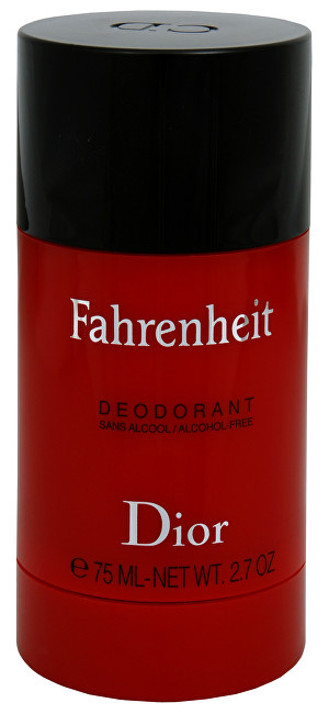Dior Fahrenheit - tuhý deodorant 75 ml