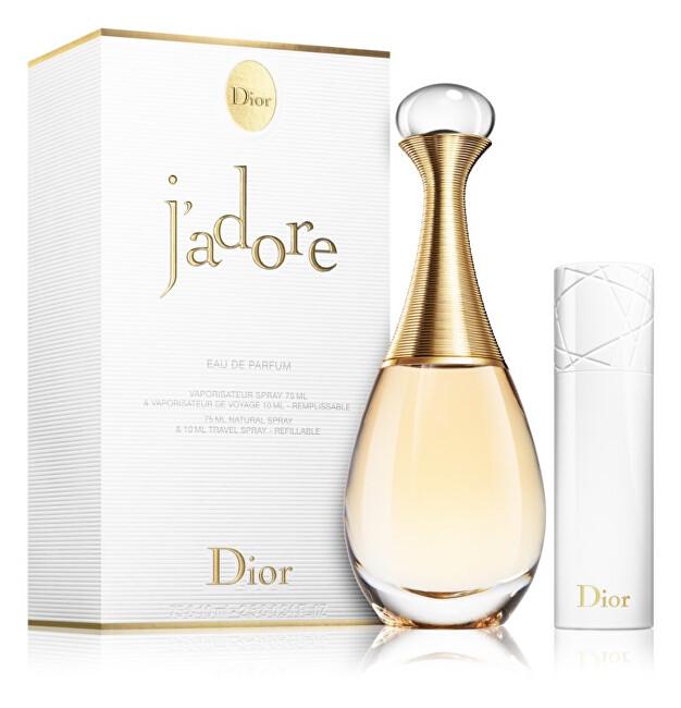 Dior J`Adore - EDP 75 ml + EDP 10 ml (plnitelný flakon)
