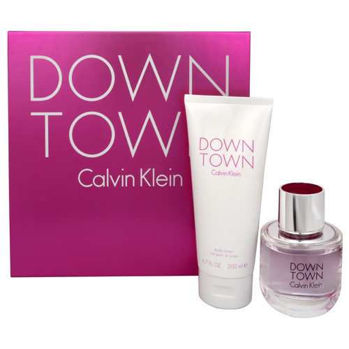 Calvin Klein Downtown - EDP 90 ml + telový krém 200 ml
