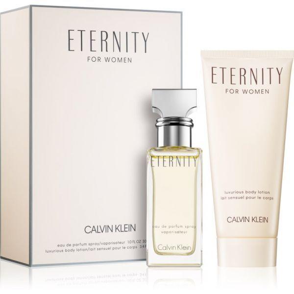 Calvin Klein Eternity - EDP 30 ml + sprchový gel 100 ml (paperpack)
