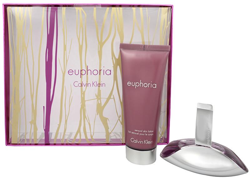 Calvin Klein Euphoria - EDP 30 ml + tělové mléko 100 ml