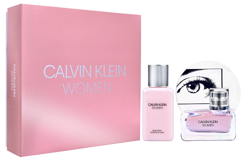 Calvin Klein Women - EDP 30 ml + telové mlieko 100 ml
