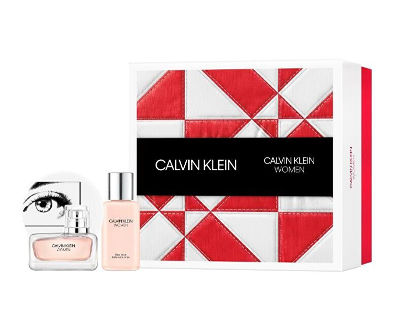 Calvin Klein Women - EDP 30 ml   telové mlieko 100 ml