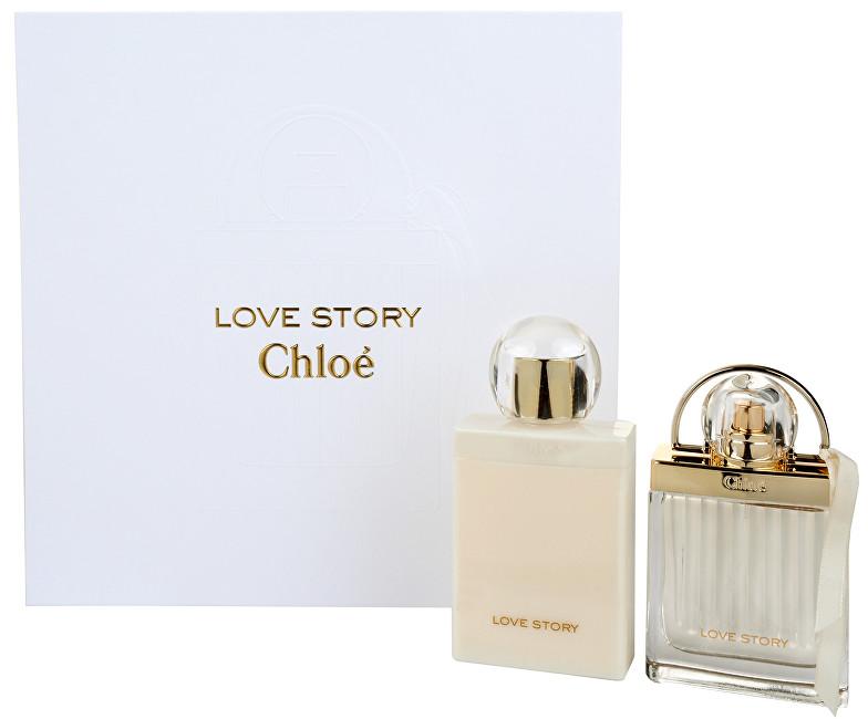 Chloé Love Story - EDP 50 ml + tělové mléko 100 ml