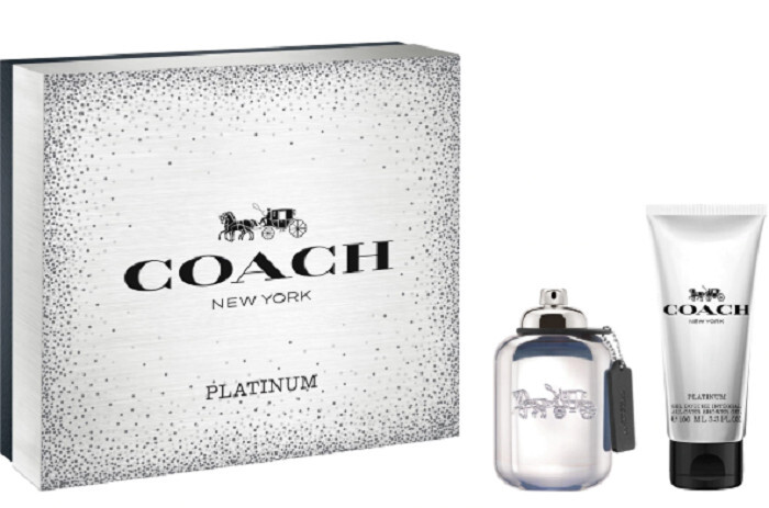 Coach Platinum  EDP 60 ml  sprchový gel 100 ml