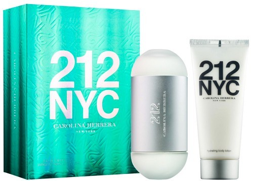 Carolina Herrera 212 - EDT 100 ml + telové mlieko 100 ml