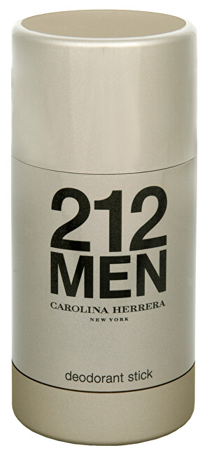 Carolina Herrera 212 Men - tuhý deodorant 75 ml