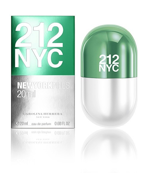Carolina Herrera 212 For Woman New York Pills toaletná voda 20 ml