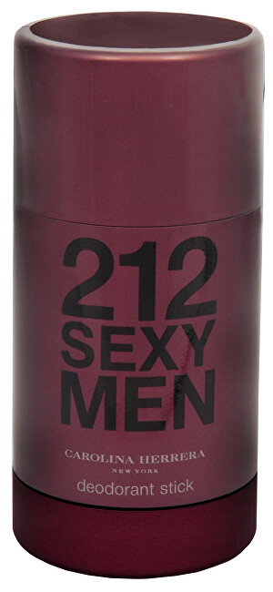 Carolina Herrera 212 Sexy For Men - tuhý deodorant 75 ml