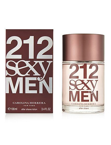 Carolina Herrera 212 Sexy For Men - voda po holení 100 ml