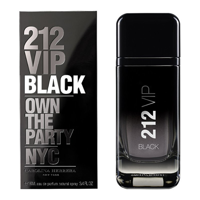 Carolina Herrera 212 VIP Black parfumovaná voda pánska 50 ml