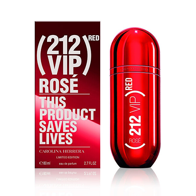 Carolina Herrera 212 VIP Rosé Red - EDP 80 ml