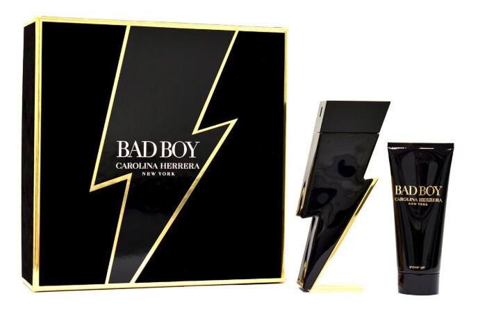 Carolina Herrera Bad Boy  EDT 100 ml  sprchový gel 100 ml