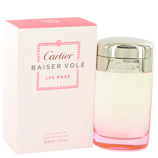 Cartier Baiser Volé Lys Rose - EDT 100 ml