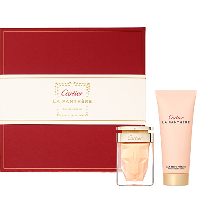 Cartier La Panthere  EDP 50 ml  sprchový gel 100 ml