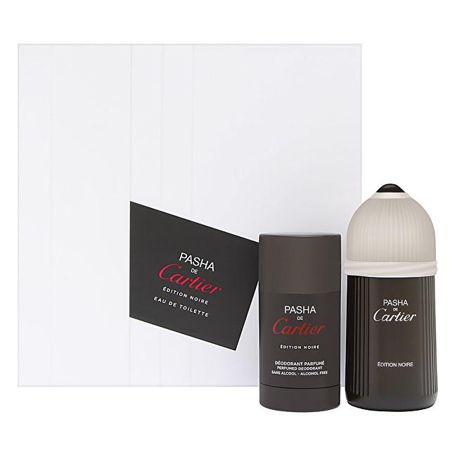 Cartier Pasha De Cartier Edition Noire - EDT 100 ml + tuhý deodorant 75 ml