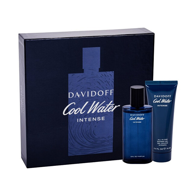 Davidoff Cool Water Intense - EDP 75 ml   sprchový gel 75 ml