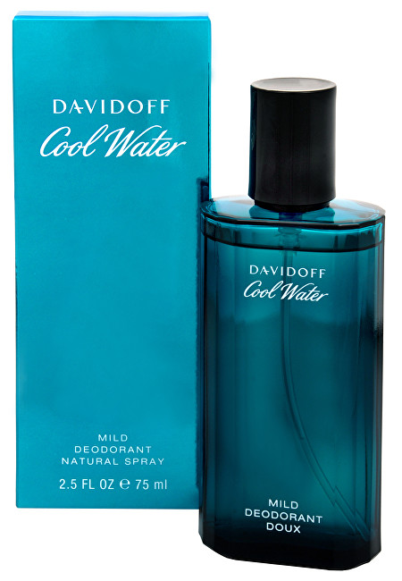 Davidoff Cool Water Man deodorant sklo 75 ml