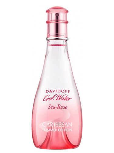 Davidoff Cool Water Sea Rose Caribbean Summer Edition toaletná voda dámska 100 ml