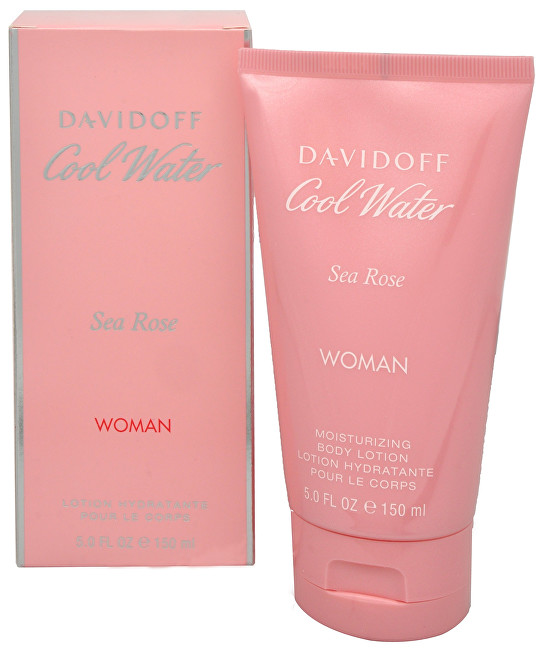 Davidoff Cool Water Sea Rose - tělové mléko 150 ml