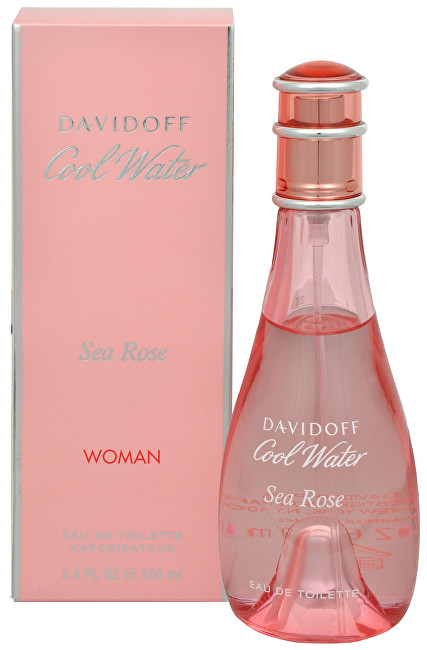 Fotografie Davidoff - Cool Water Sea Rose 50ml Toaletní voda W