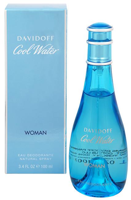 Davidoff Cool Water Woman - deodorant s rozprašovačem 100 ml