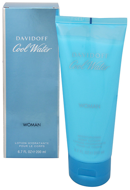 Davidoff Cool Water Woman telové mlieko 150 ml