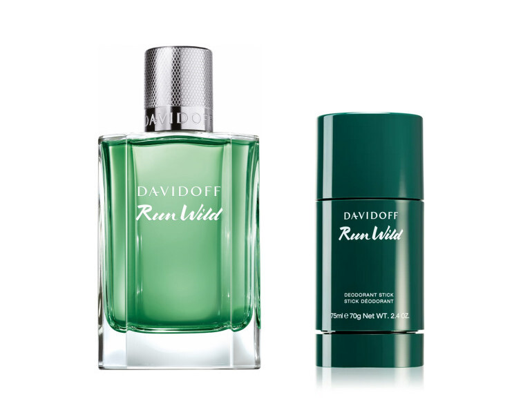 Davidoff Run Wild  EDT 100 ml  tuhý deodorant 75 ml