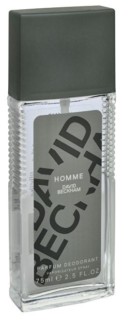 David Beckham Homme - deodorant s rozprašovačem 75 ml